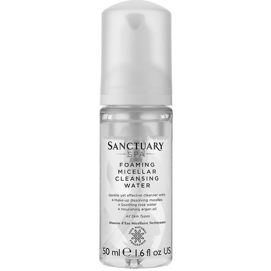 Sanctuary Spa Foaming Micellar Cleansing Water 50ml