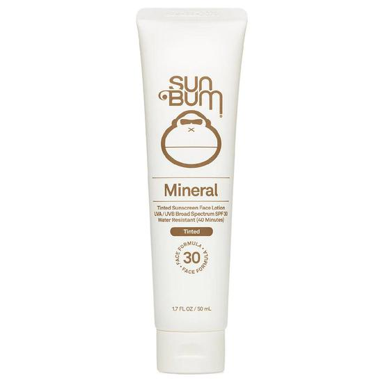 Sun Bum Mineral SPF30 Tinted Sunscreen Face Lotion 50ml