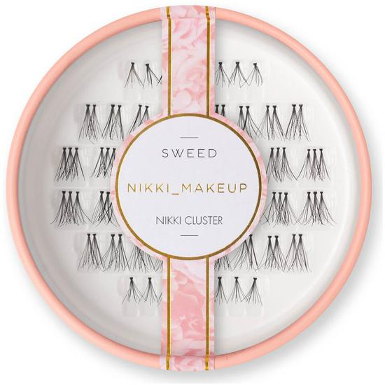 Sweed Lashes X Nikki Makeup Nikki Cluster Black