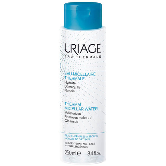 Uriage Eau Thermale Thermal Micellar Water For Normal To Dry Skin 8 oz